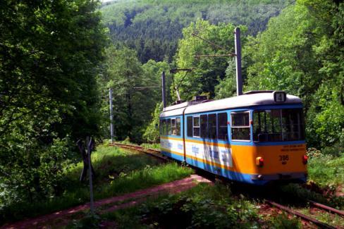 Nostalgische Strassenbahn